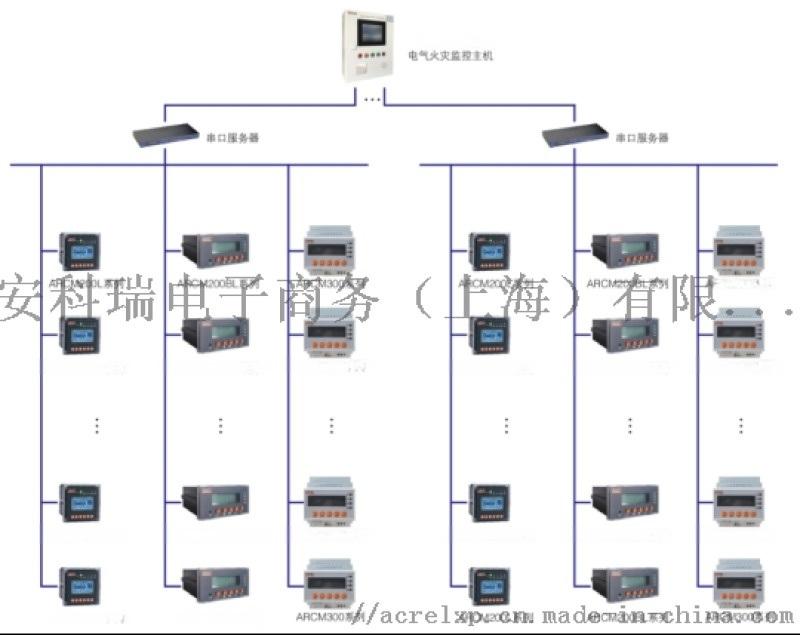 安科瑞电气火灾监控系统在浦江镇125-3号地块的应用