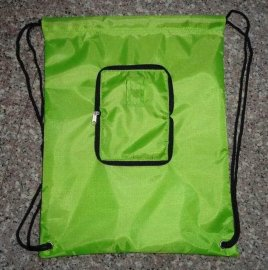 折叠束口袋