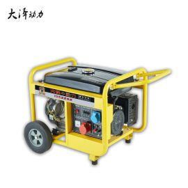 6KW汽油发电机TO7100ET三相380V