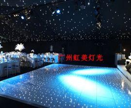 LED亚克力星空地板砖 婚庆造型地板砖 星星地板砖