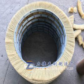 石油天然气管道清管器钢丝刷,油气管壁清管器钢刷厂家