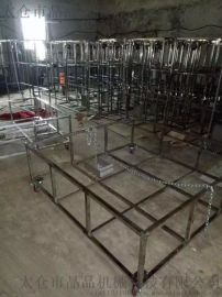 昆山钣金件不锈钢箱子机架金属框展示牌