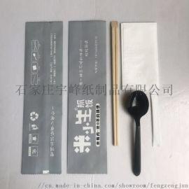 厂家直销一次性餐具包筷子勺子纸巾牙签组合装