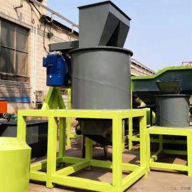 黏土炉渣链板粉碎机 草木碳链式粉碎机 多层粉碎链式加刀片粉碎机