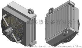 供应125T、280T履带起重机液压油散热器