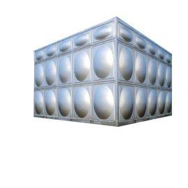 太仓室外夹套水箱 不锈钢铁皮高位水箱