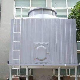 密闭横流冷却塔 方形横流冷却塔 玻璃钢冷却塔