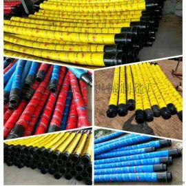 胶管厂家 2层4层钢丝125.3米胶管多少钱一条