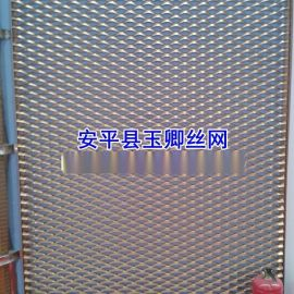 氟碳喷涂铝板网,幕墙装饰网,工程外墙铝板网