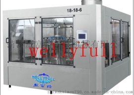 酒水灌装生产线 液体灌装生产线 灌装生产 灌装设备