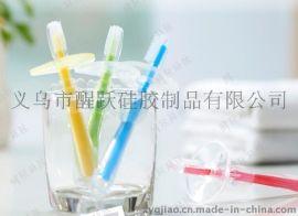 法国酷儿**乳牙刷**硅胶软毛牙刷幼儿童训练牙刷医用级0-3岁