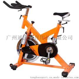 豪华动感单车单车家用室内健身器材 超静音脚踏运动自行车健身车