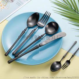 银貂厂家**304不锈钢西餐餐具厨房用品刀叉勺