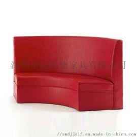 欧式转角卡座沙发餐厅卡座沙发图片网吧卡座沙发尺寸