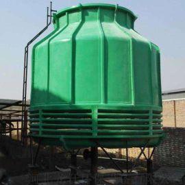 厂家直销玻璃钢耐高温圆形逆流冷却塔 湿式冷却塔