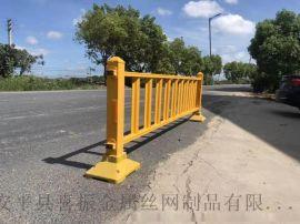 成都道路护栏 白色道路市政护栏 各类市政护栏供应