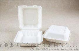 环保纸快餐盒多格一次性打包盒可降解沙拉外卖餐盒