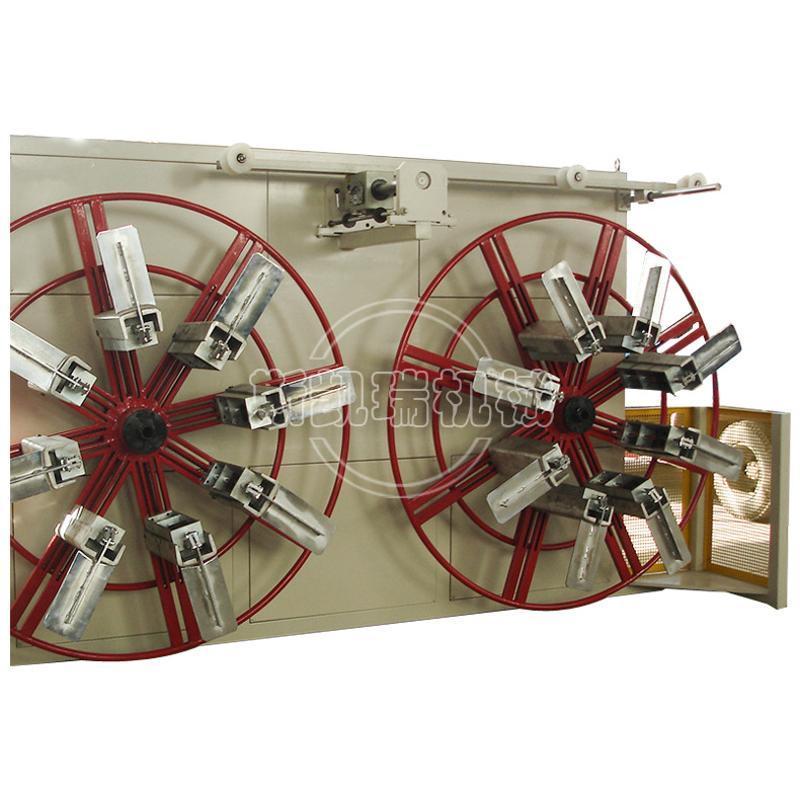 全自动收卷机 塑料管材设备双工位收卷机