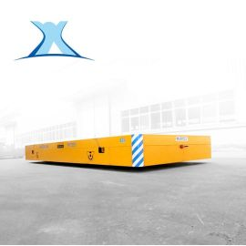 汽车零部件转运无轨电动车 100t超大型电动无轨平板**