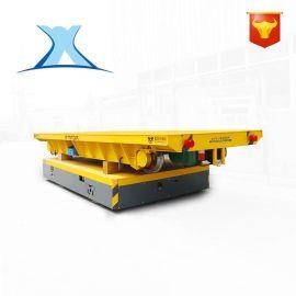 特厚板热处理生产线工程车间两跨之间转运电动平车