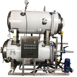 蒸汽加热杀菌锅 不锈钢高温杀菌设备 不添加   延长保质期