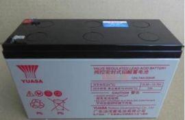 YUASA汤浅NP7-12 12V7AH铅酸免维护阀控式UPS电源太阳能蓄电池