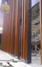 6米长铝方通 木纹方通