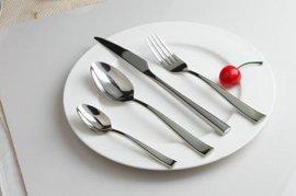 高檔不鏽鋼西食具套裝 叉子勺子西餐刀牛排刀叉勺三件套