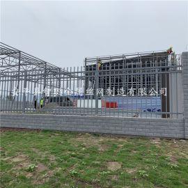 锌钢阳台护栏 锌钢草坪护栏 小区锌钢 学校围网