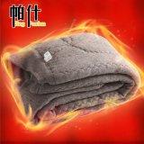 超保暖護膝保健高腰加厚駝絨棉褲 男女中老年羊絨羊毛棉褲批發