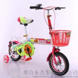 新款儿童自行车12脚踏车16寸学生车送辅轮单只厂家直销
