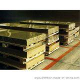 【海军铜板】现货5.0*600*1500mm高精黄铜板H65高纯黄铜板