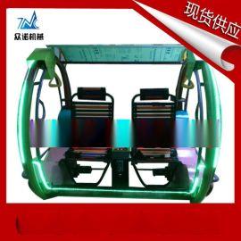 广场游乐乐吧车 双人平衡摇摇椅 众诺游乐设备乐吧车