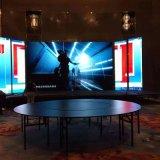 酒店會議室裝屏,人離螢幕最近3米,裝什麼型號比較合適呢?