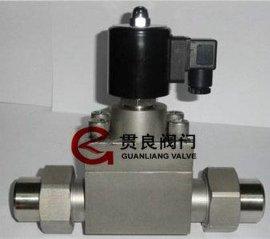 高温高压电磁阀/防爆高压卡套电磁阀的原理