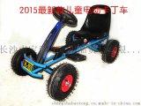 洛骑亚2015最新款儿童电动卡丁车童车四轮充气轮胎卡丁车电动车