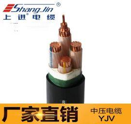 上海永进电缆YJV4X2.5交联聚乙烯电缆国标足米低烟无卤阻燃电缆厂家直销
