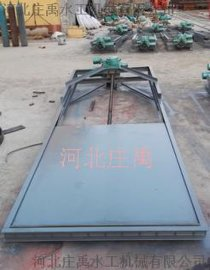 电动装置钢制插板门  厂家直销钢制插板门