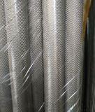 网纹滚花铝棒 6061国标拉花铝棒 非标铝棒