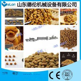 56型双螺杆膨化宠物食品生产线 济南宠物食品机械生产厂家