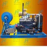 170升大流量管道疏通清洗機 造紙廠管道高壓疏通機 高壓水射流清洗機