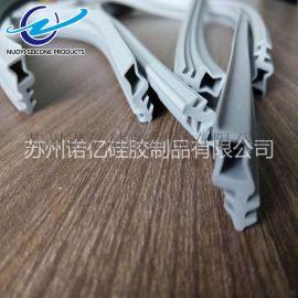 耐磨损硅橡胶异形条 硅胶密封件