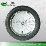 12寸兒童自行車橡膠充氣輪鐵輪圈輻條輪