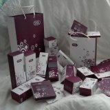 工厂定做印刷化妆品美容院包装盒CC霜盒子通用银卡纸外包装纸盒