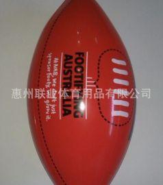 厂家直销出口欧美充气橄榄球 充气球 充气足球 充气沙滩球 沙滩球