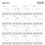 新裕东厂家供应铝合金通用型材系列