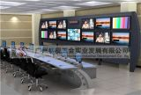 青島市  大隊監控中心控制臺 指揮中心監控桌  務控制臺