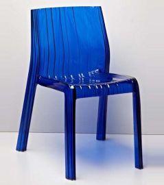 时尚简约欧式家居办公休闲折叠椅 亚克力椅子