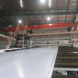 金韦尔PP输送带流水线清粪带片材生产线
