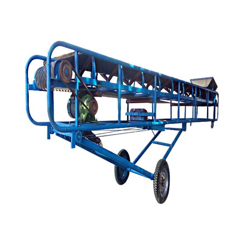 电子原件铝型材输送机 有机肥皮带运输机qc